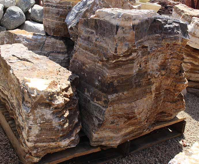 BlueRock boulders