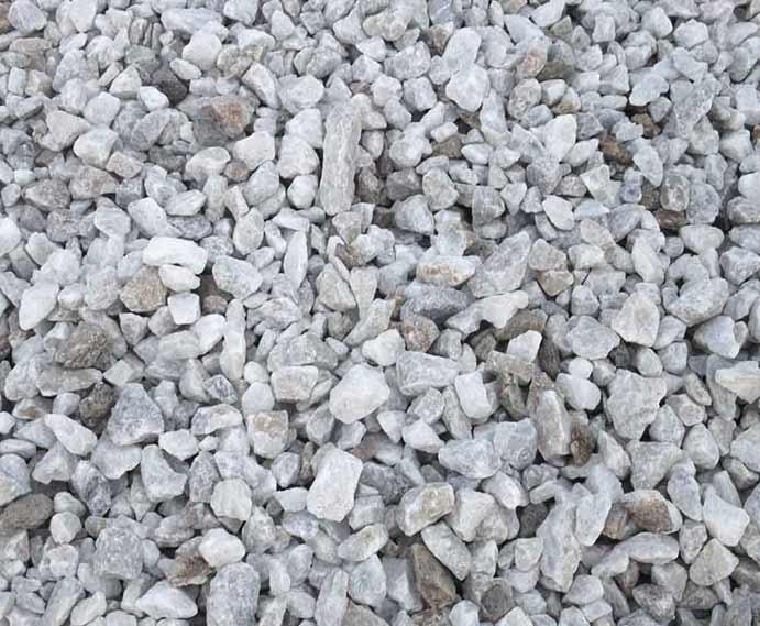 Gravel Rock Blue Rock Landscape Materials