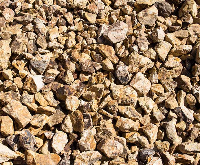 BlueRock color gravel
