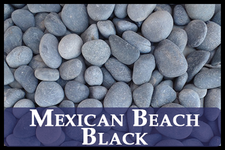Mexican Beach Pebbles (Black)
