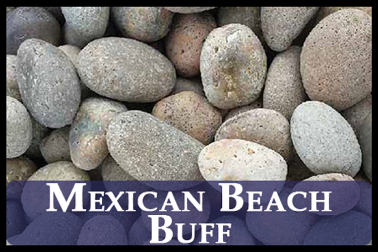 Mexican Beach Pebbles (Buff)