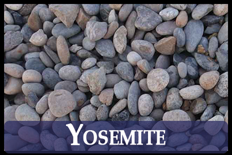Yosemite River Pebbles
