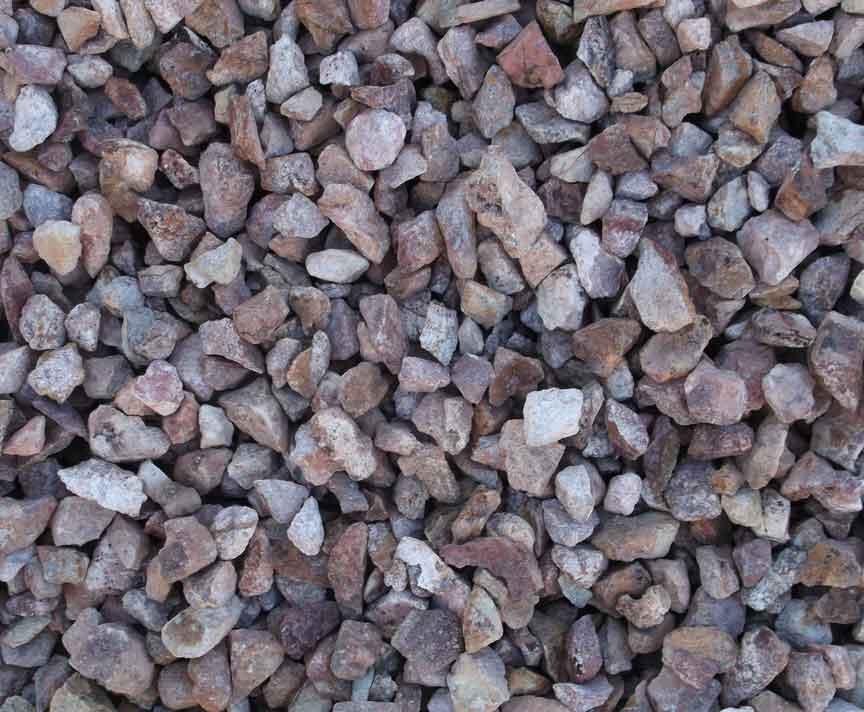 Blue Rock Landscape Materials calico gravel