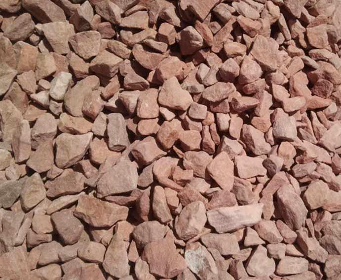 Blue Rock Landscape Materials Las Vegas Pink Gravel