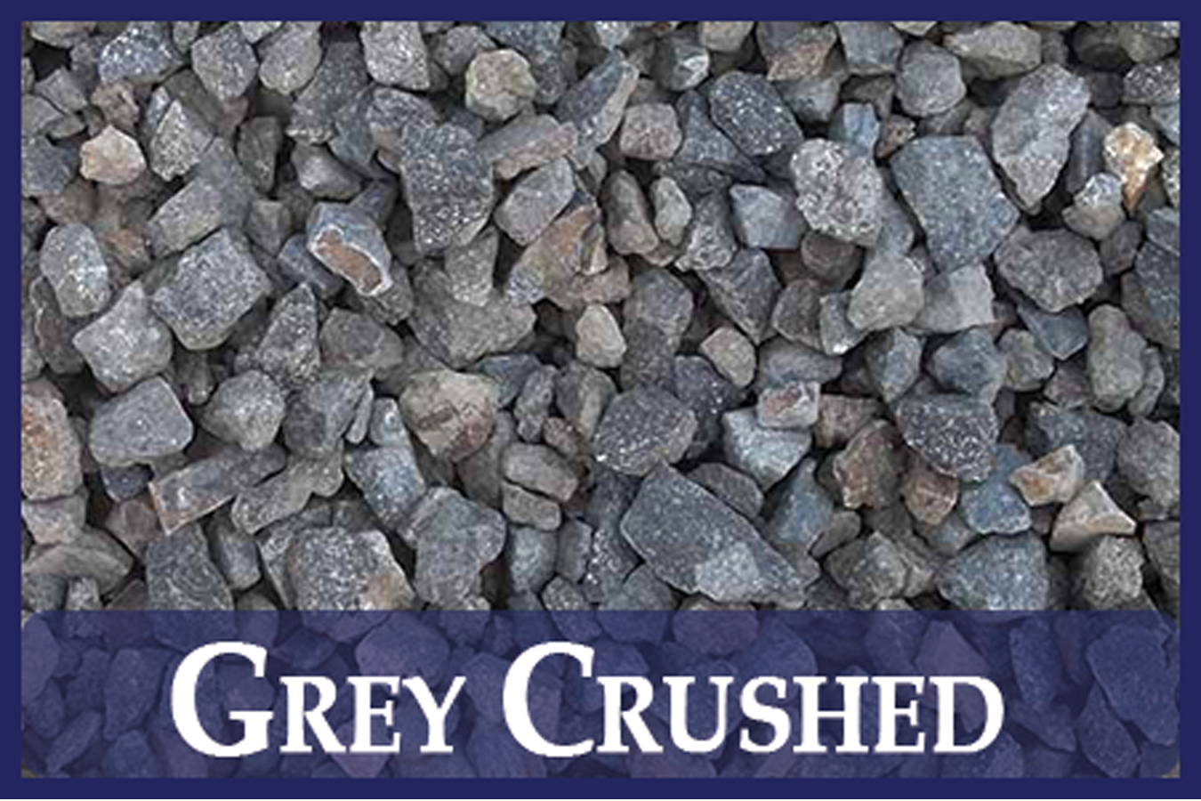 Gray Crushed Gravel