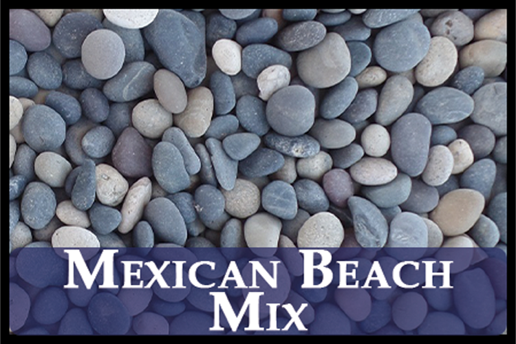 Mexican Beach Pebbles (Mixed)