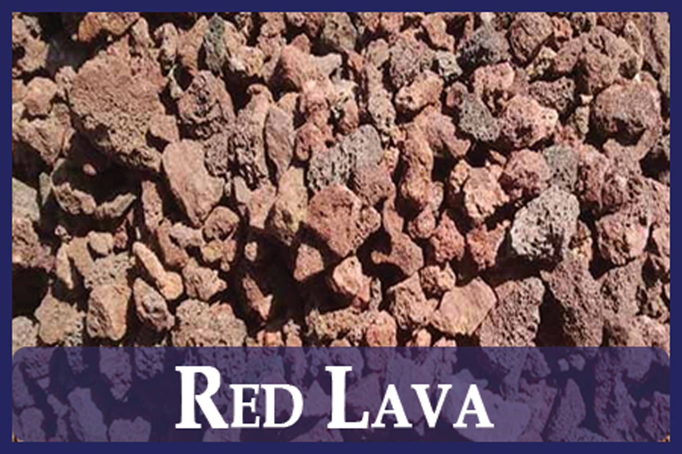 Red Lava Rock